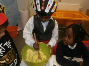 and they even found time to cook!