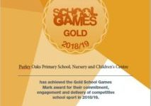 Gold Games Award September 2019